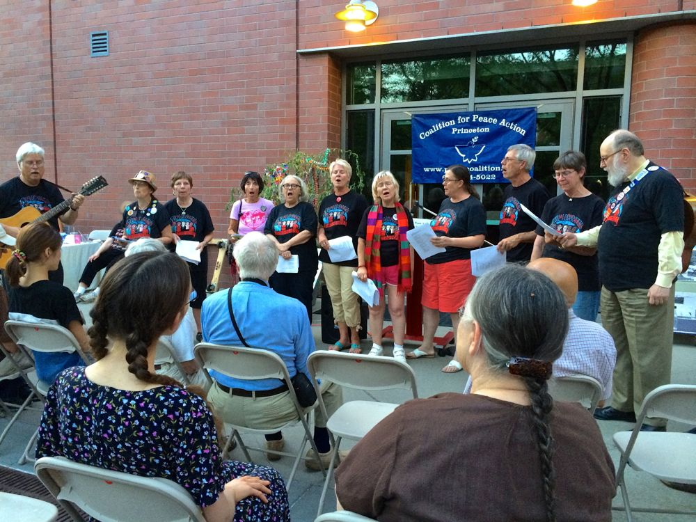 Solidarity Singers present music 8-5-14