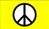 Peace Yellow Flag