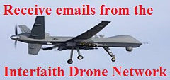 Signup button for Interfaith Drone Network E-mails